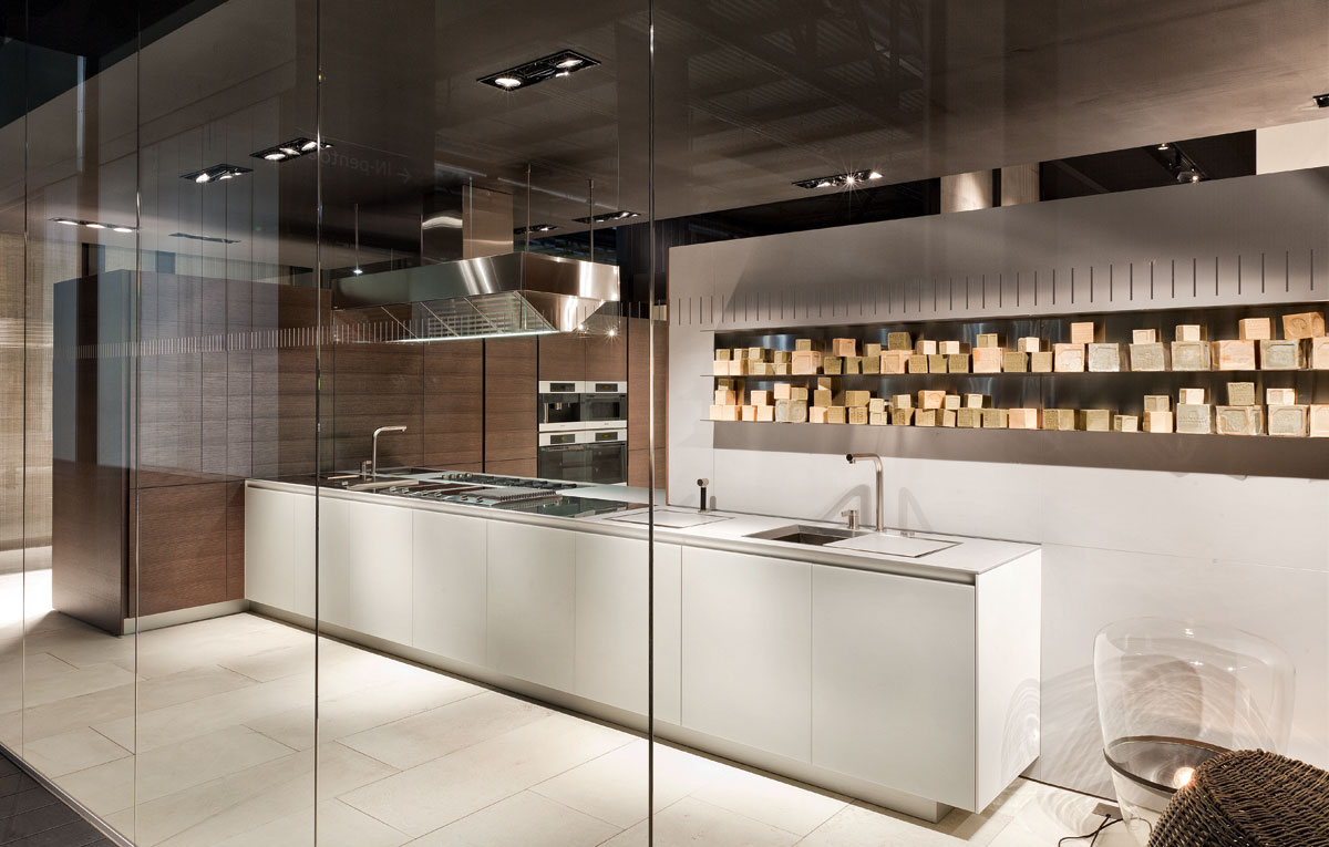 Richlin International Design Center Varenna Poliform Kitchen Design in Naples, Fort Myers, and Bonita Springs Florida