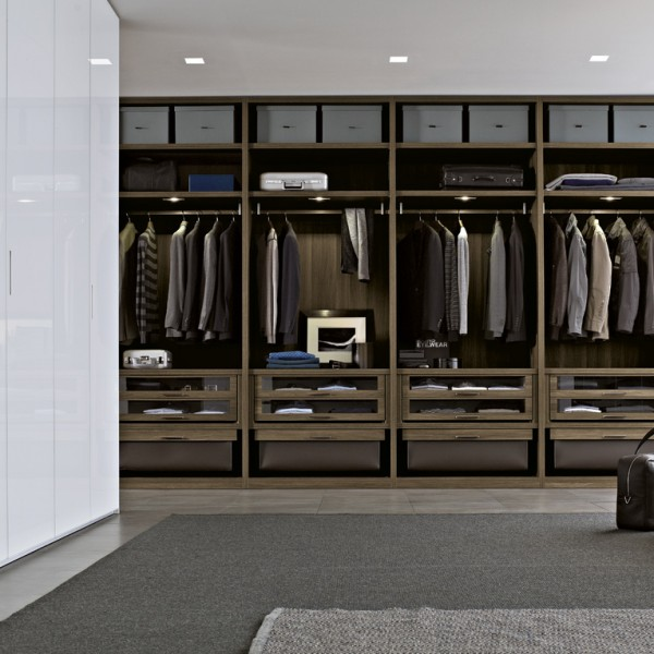 Poliform ocean modern luxury wardrobes naples fl for Men s walk in wardrobe