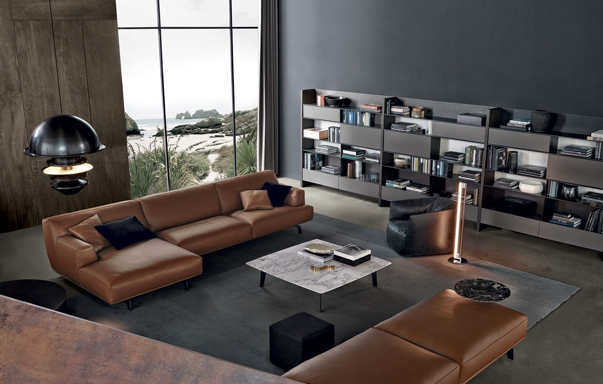 Poliform tribeca contemporary furniture naples fl for Modern furniture nyc