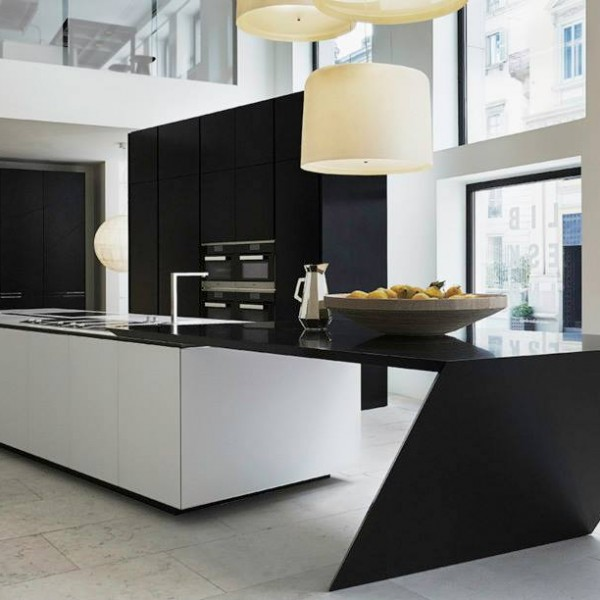 Contemporary furnishings exhibit salone del mobile for Kitchen design 43055