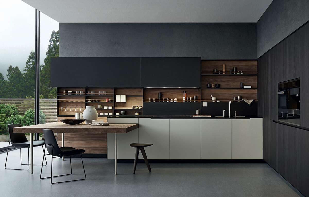 Poliform Phoenix Contemporary Kitchen Naples