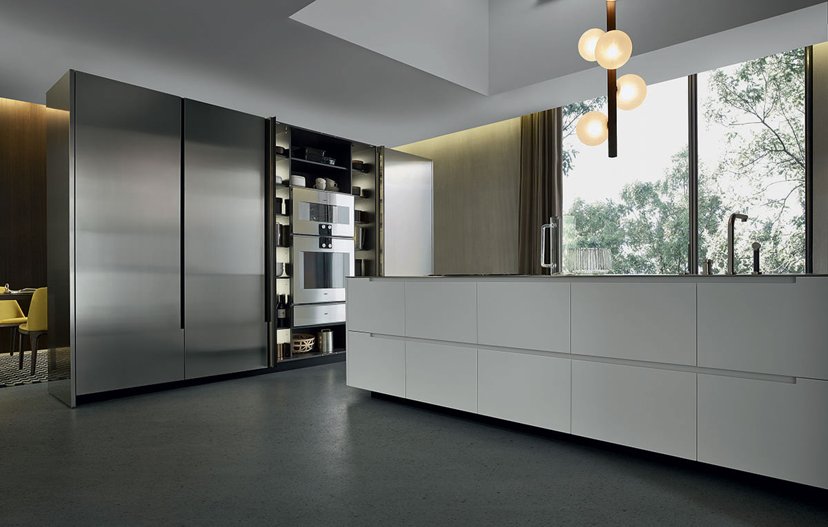 varenna phoenix by poliform modern kitchen naples florida. Black Bedroom Furniture Sets. Home Design Ideas